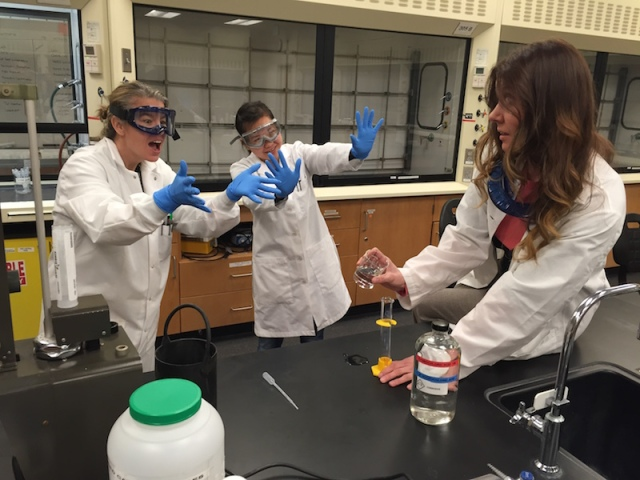 Remember to wear gloves, goggles, and practice safe protocols while conducting experiments.