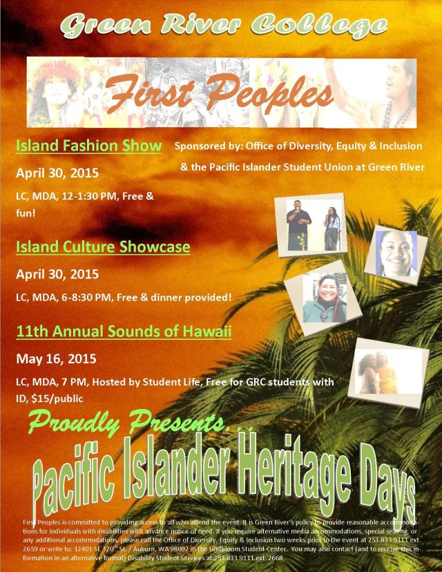 Pacific Islander Heritage Days