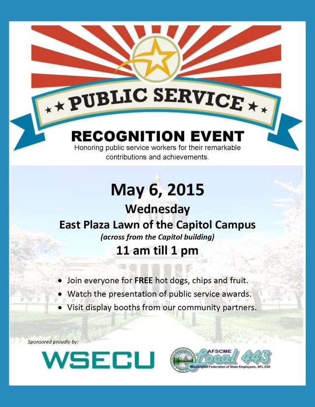 PSRW Recognition Event Flyer