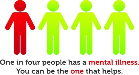 Be the one to help someone suffering from mental illness