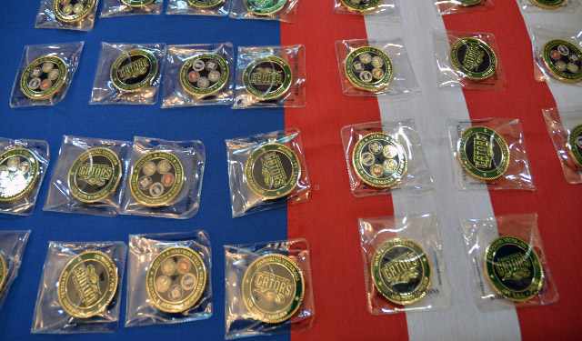 Vet Coin Ceremony Coins