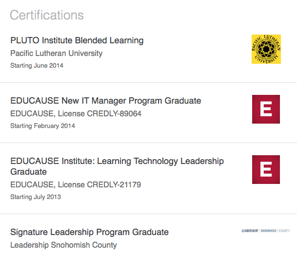 LinkedIn-Certifications