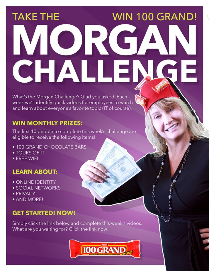 Take the Morgan Challenge - Win 100 Grand!