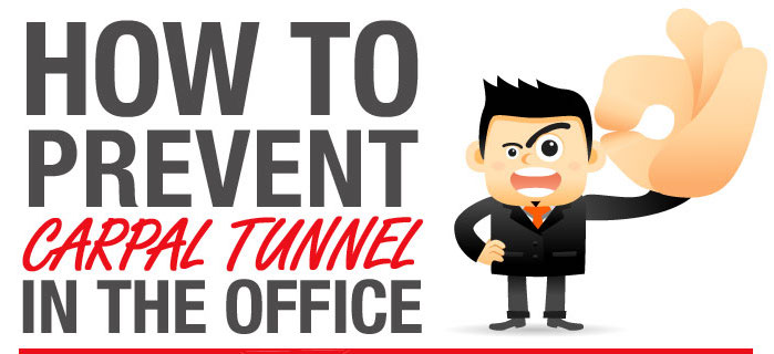 How to Prevent Carpal Tunnel in the Office