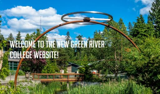 New Green River College Website