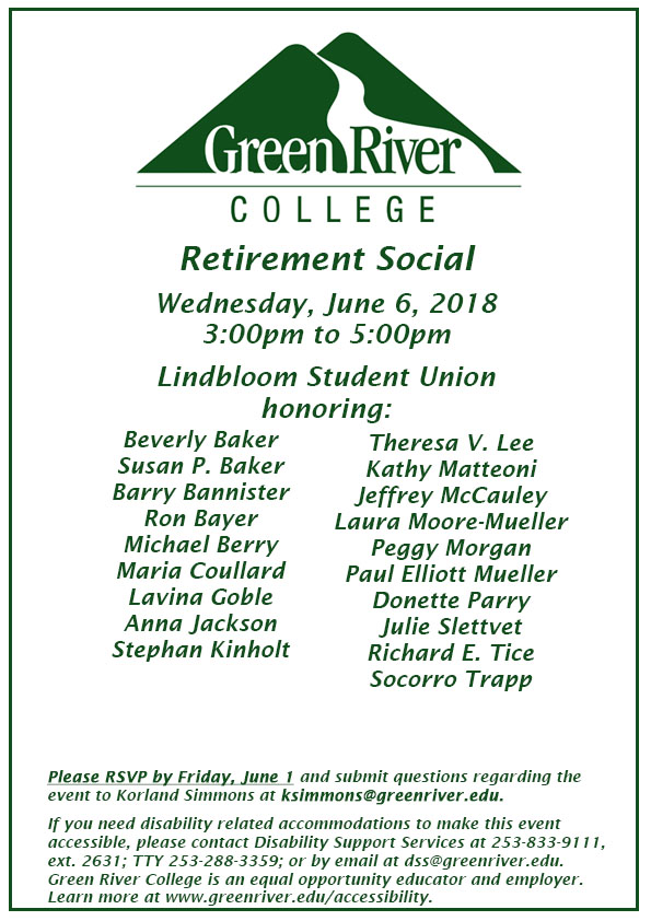Save the Date Retirement Social 2018 1